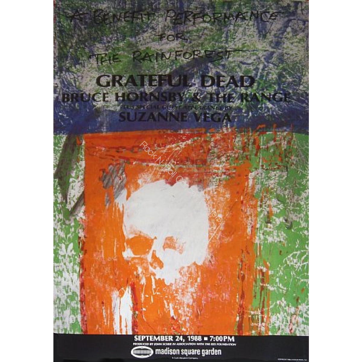 The Grateful Dead Madison Square Garden New York City 9 24 88 Rainforest Benefit Grateful Dead