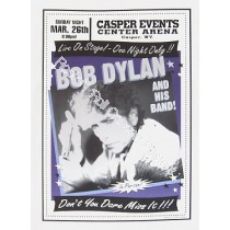 Bob Dylan & His Band Casper Wyoming 3/26/00