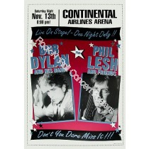 Bob Dylan &  Phil Lesh Continental Airlines Arena