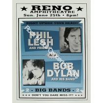 Bob Dylan & Phil Lesh Reno Amplitheatre