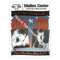 Bob Dylan & Phil Lesh The Mullins Center UMASS