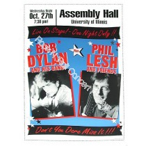 Bob Dylan &  Phil Lesh @ Assembly Hall  U of IL.
