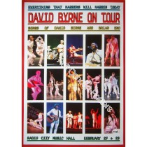 David Byrne (Talking Heads) Radio City Music Hall 2/27-28/09 Official print