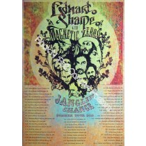 Edward Sharpe & The Magnetic Zeros  Summer Tour  2010 Poster