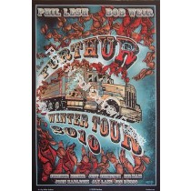 Furthur Winter Tour 2010 print With Bob Weir & Phil Lesh of the Grateful Dead
