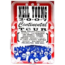 Neil Young US Tour 2007  by Hatch show print #A