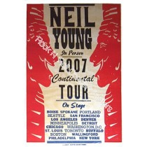Neil Young US Tour 2007  by Hatch show print #B