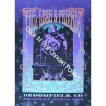 Phil Lesh & Friends Broomfield Colorado 2012 Official LE  Silk Screen Poster Edition of 500