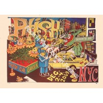 Phish @ Madison Square Garden 12/2-4/09 Official show print 1st edition by Jim Pollock