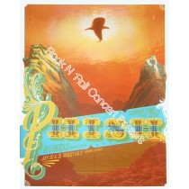 Phish @ Red Rocks 8/1/09 official print