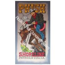 Phish @ Shoreline10/6-7/00 color version by Pollock