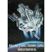 Rolling Stones Voodoo Lounge World Tour 1994 1995 Limited Edition print