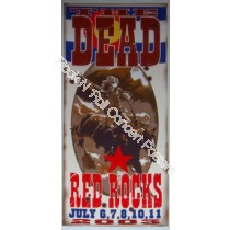 The Dead Red Rocks 2003 Official print