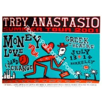 Trey Anastasio @ The Greek Theatre 7/13-14/01