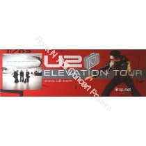 U2 Elevation North American Tour Lithograph  2001 poster A