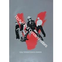 U2 Veritgo Tour 2005 Official Print Version A
