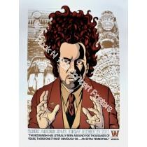 Ween Denver Fillmore 12/29/11 Official Silk Screen Print By Justin Hampton
