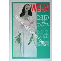 Ween Denver Fillmore 2011 Official Print Version A