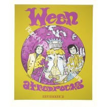 Ween @ Red Rocks Amphitheatre Original 1st edition print by Jermaine Rogers 9/6/09