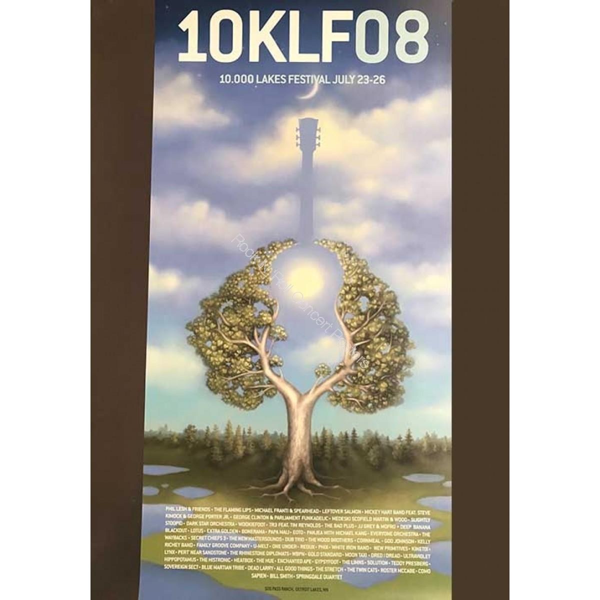 10,000 Lakes Festival 2008 Poster Version B