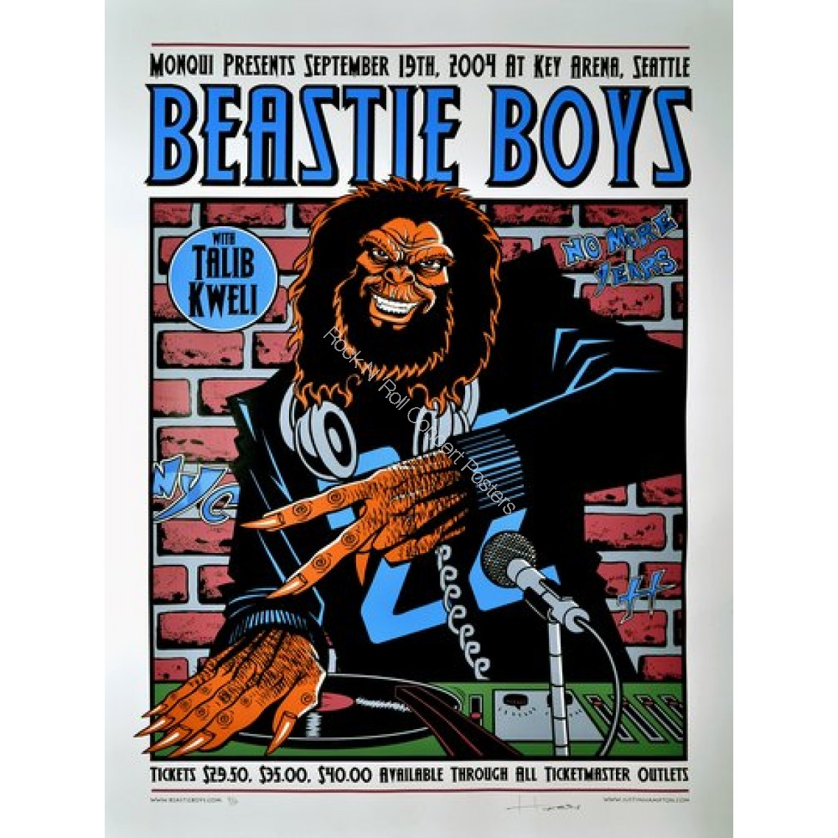 Beastie Boys @ Key Arena Seattle 9/19/04 By Justin Hampton