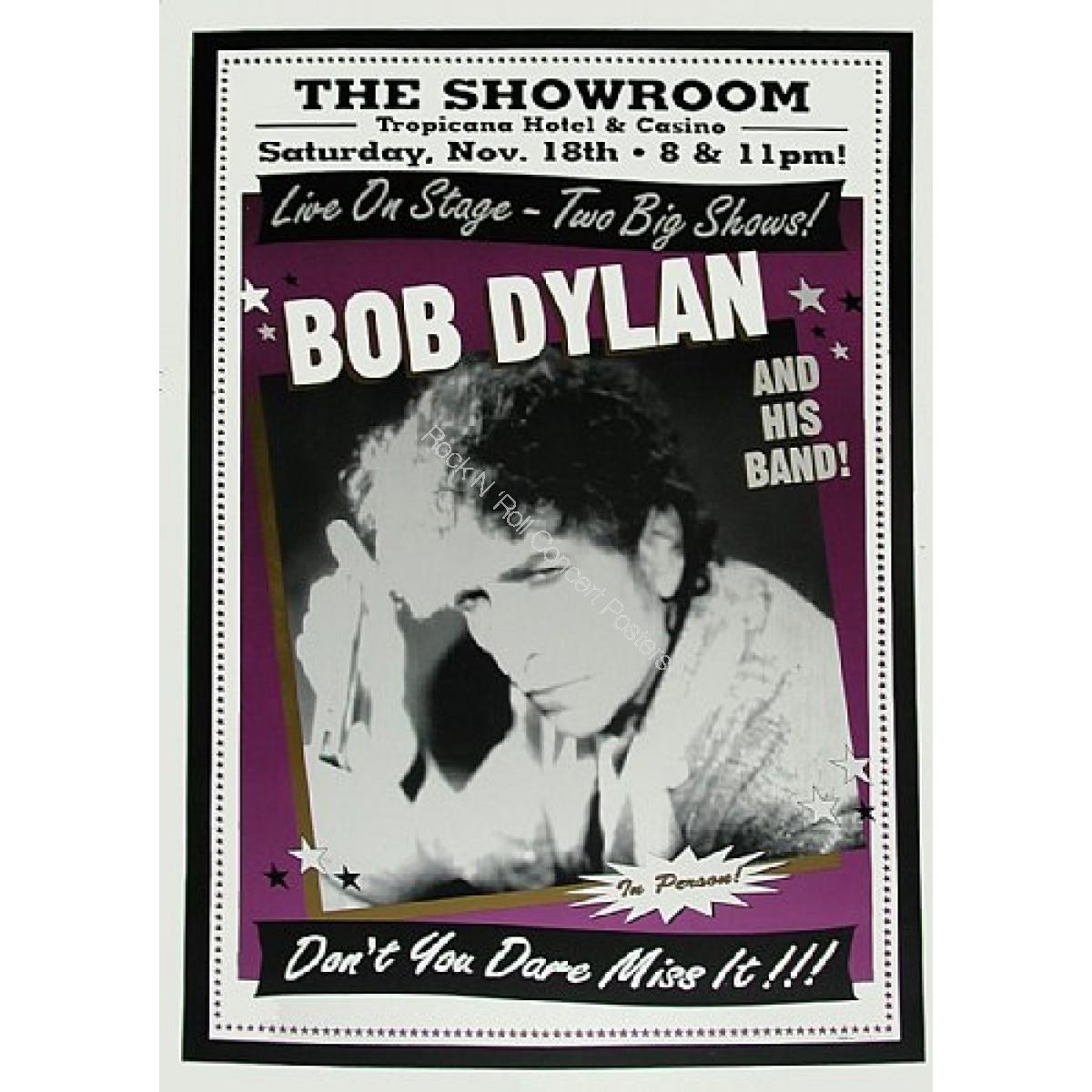 Bob Dylan & His Band @ The Tropicana Hotel