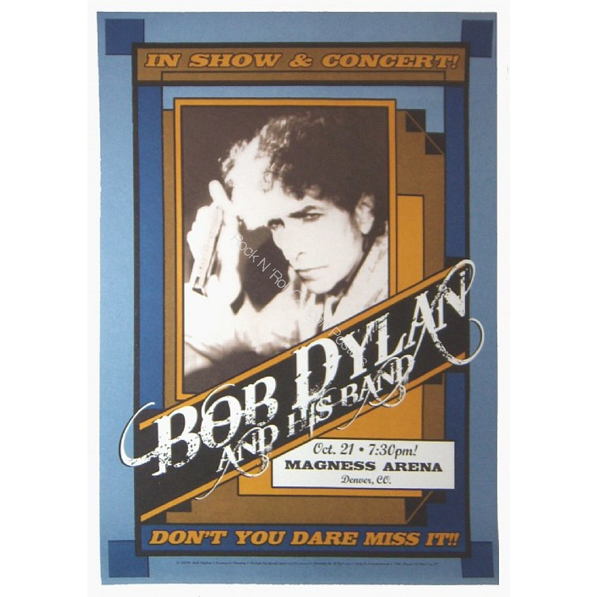 Bob Dylan Denver Coliseum 10/21/09