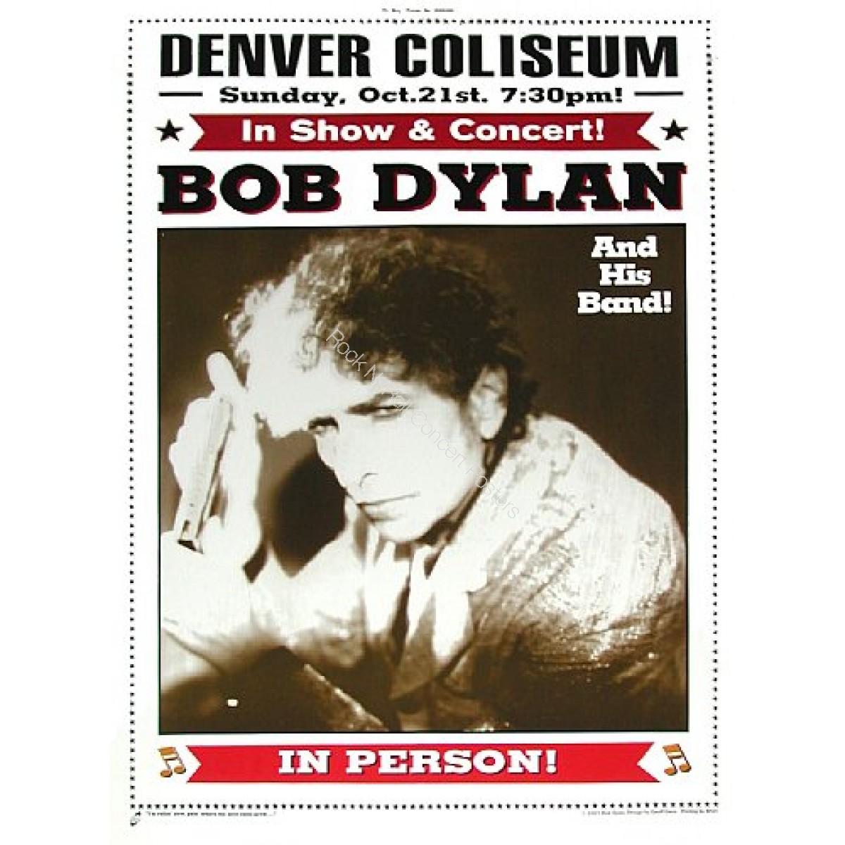 Bob Dylan Denver Coliseum