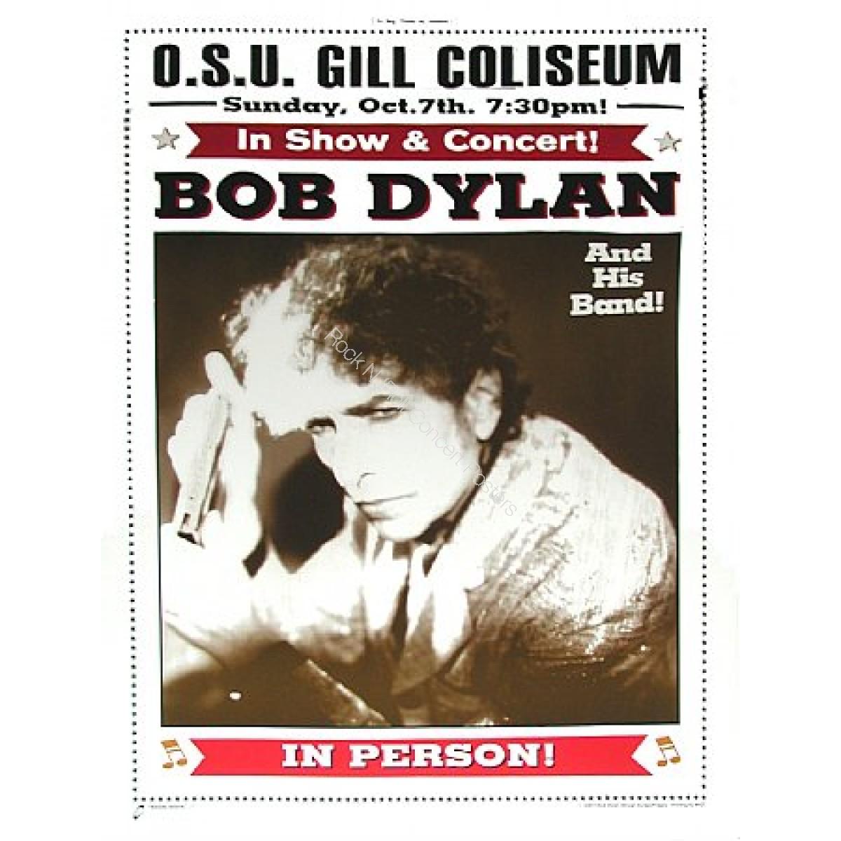 Bob Dylan & His Band  Gill Coliseum OSU