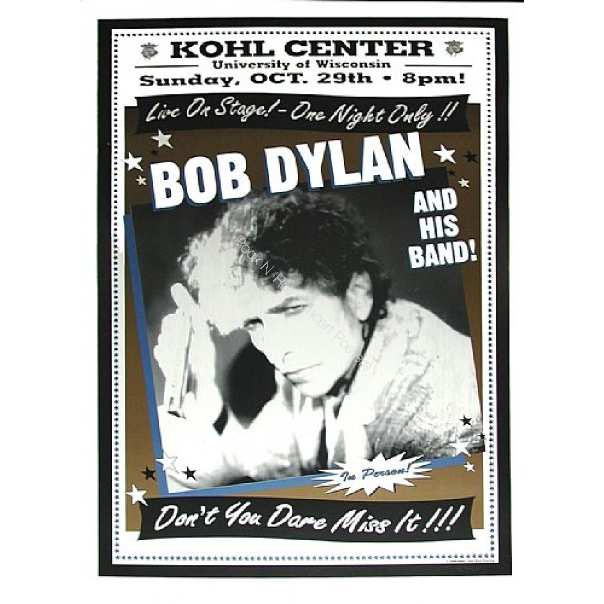 Bob Dylan & His Band The Kohl Center
