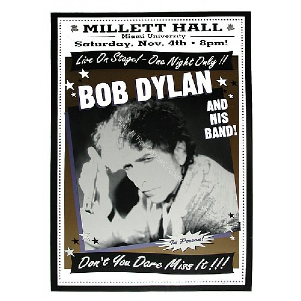Bob Dylan & His Band @ Millett Hall, Miami U.