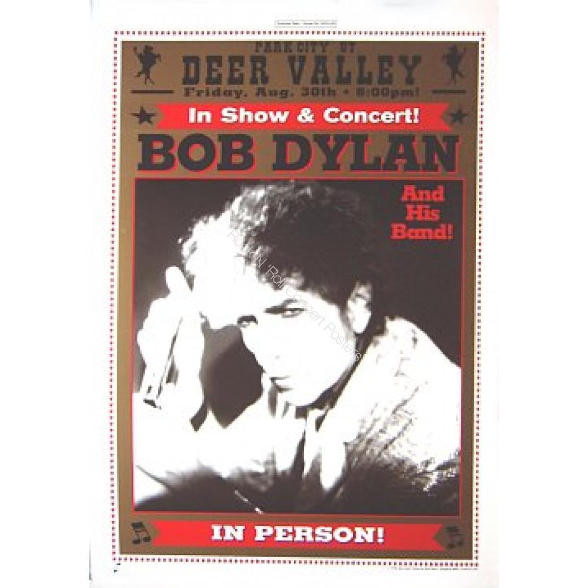 Bob Dylan & His Band Deer Valley, Park City Utah