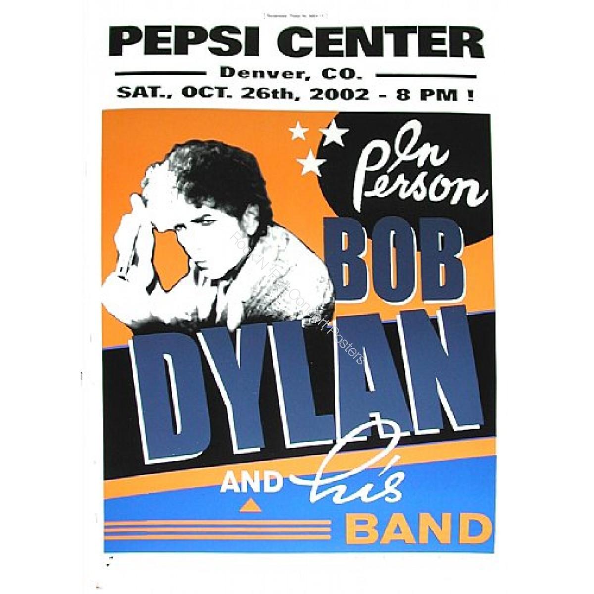 Bob Dylan @ The Pepsi Center Denver CO.