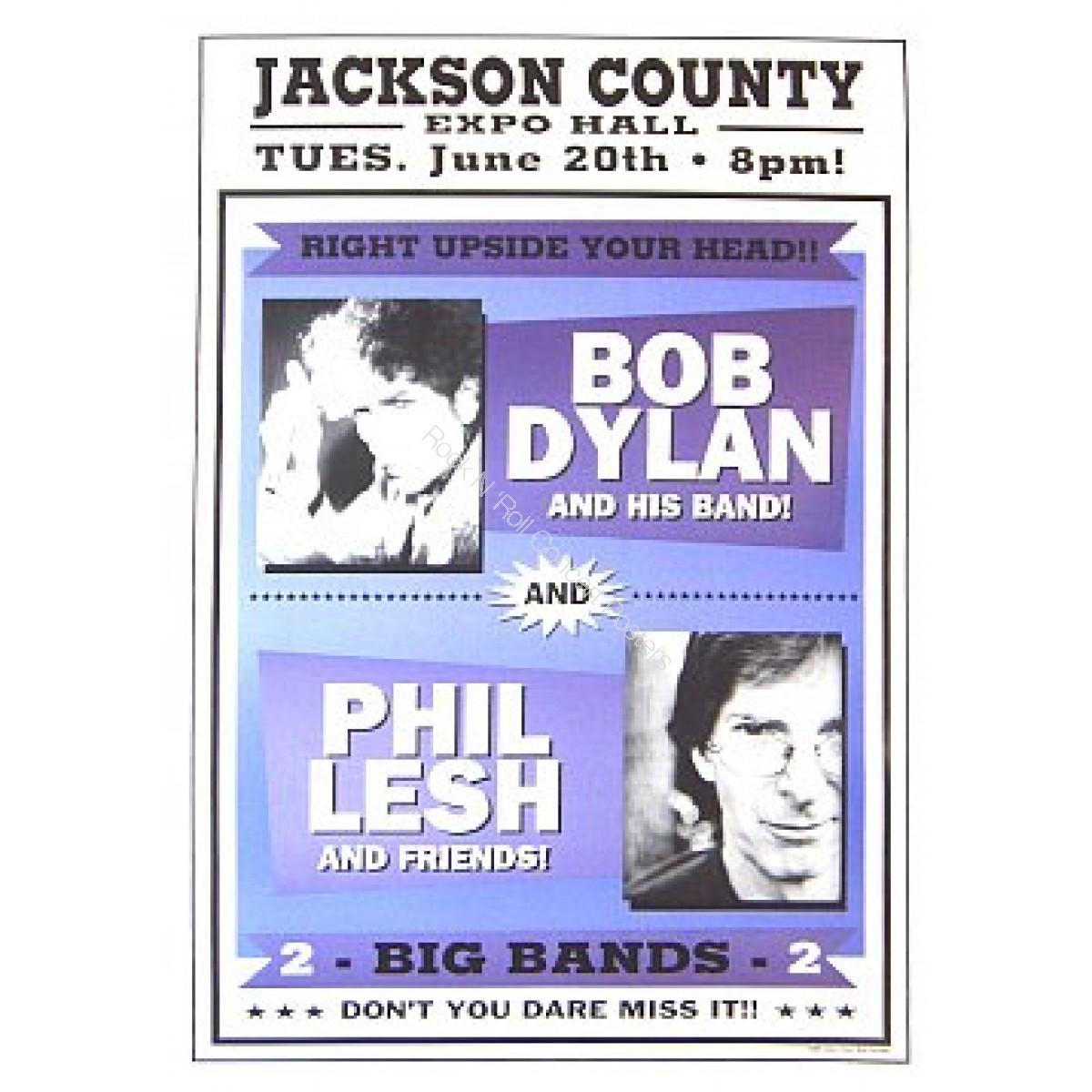 Bob Dylan &  Phil Lesh Jackson County Expo Hall