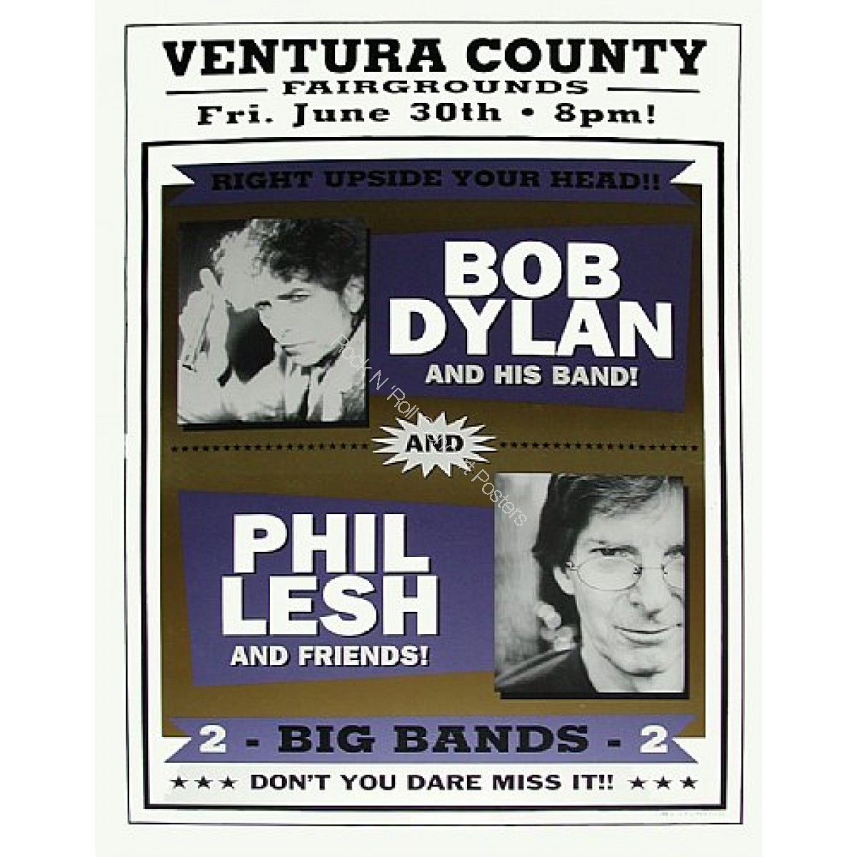 Bob Dylan &  Phil Lesh Ventura Fairgrounds