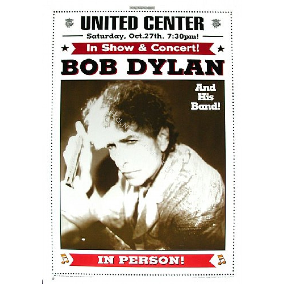 Bob Dylan & His Band @ The United Center