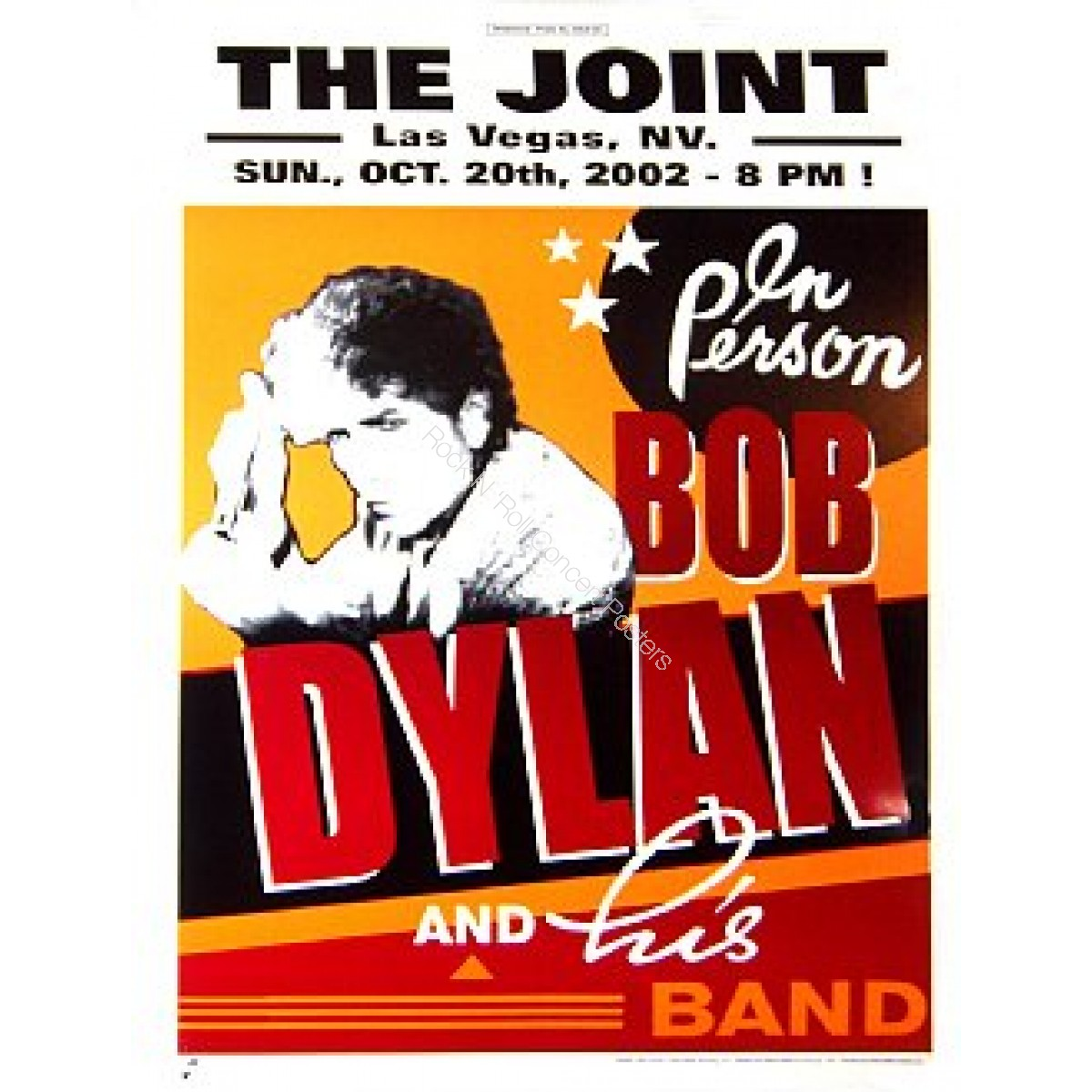 """Bob Dylan & His Band @ """"The Joint""""  Las Vegas 02"""