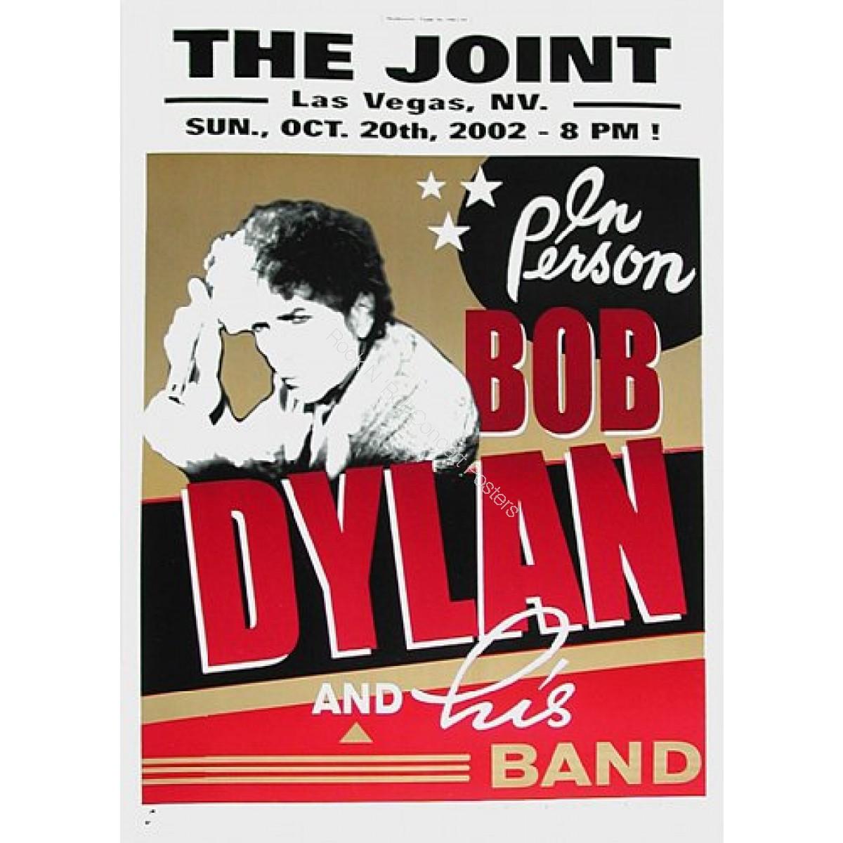 """Bob Dylan @ """"The Joint"""" Las Vegas  2002"""