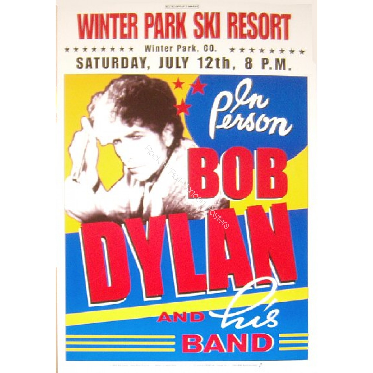 Bob Dylan Winter Park Colorado 7/12/06
