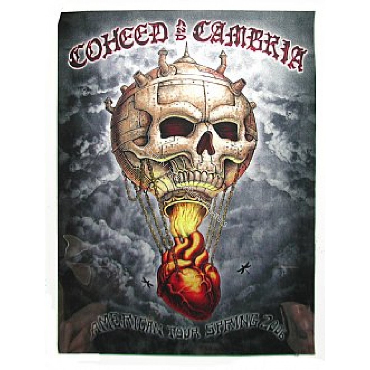 Coheed & Cambria  Spring Tour 2006 By Emek