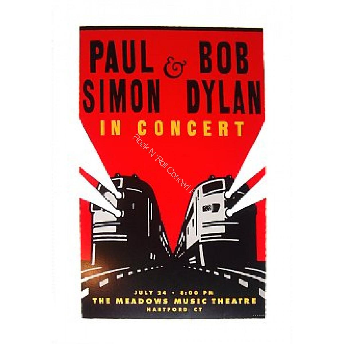 Bob Dylan & Paul Simon Meadows Music Theatre