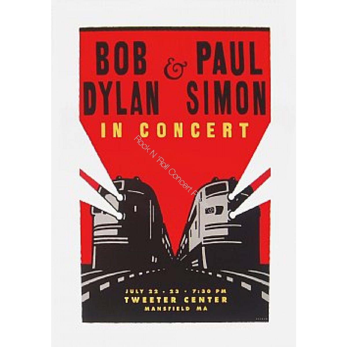 Bob Dylan & Paul Simon The Tweeter Center