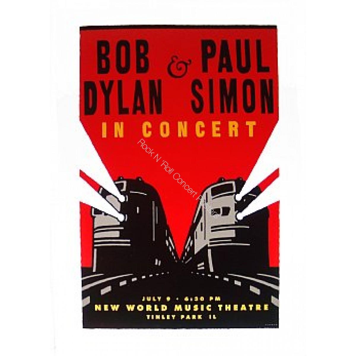 Bob Dylan & Paul Simon The World Music Theatre