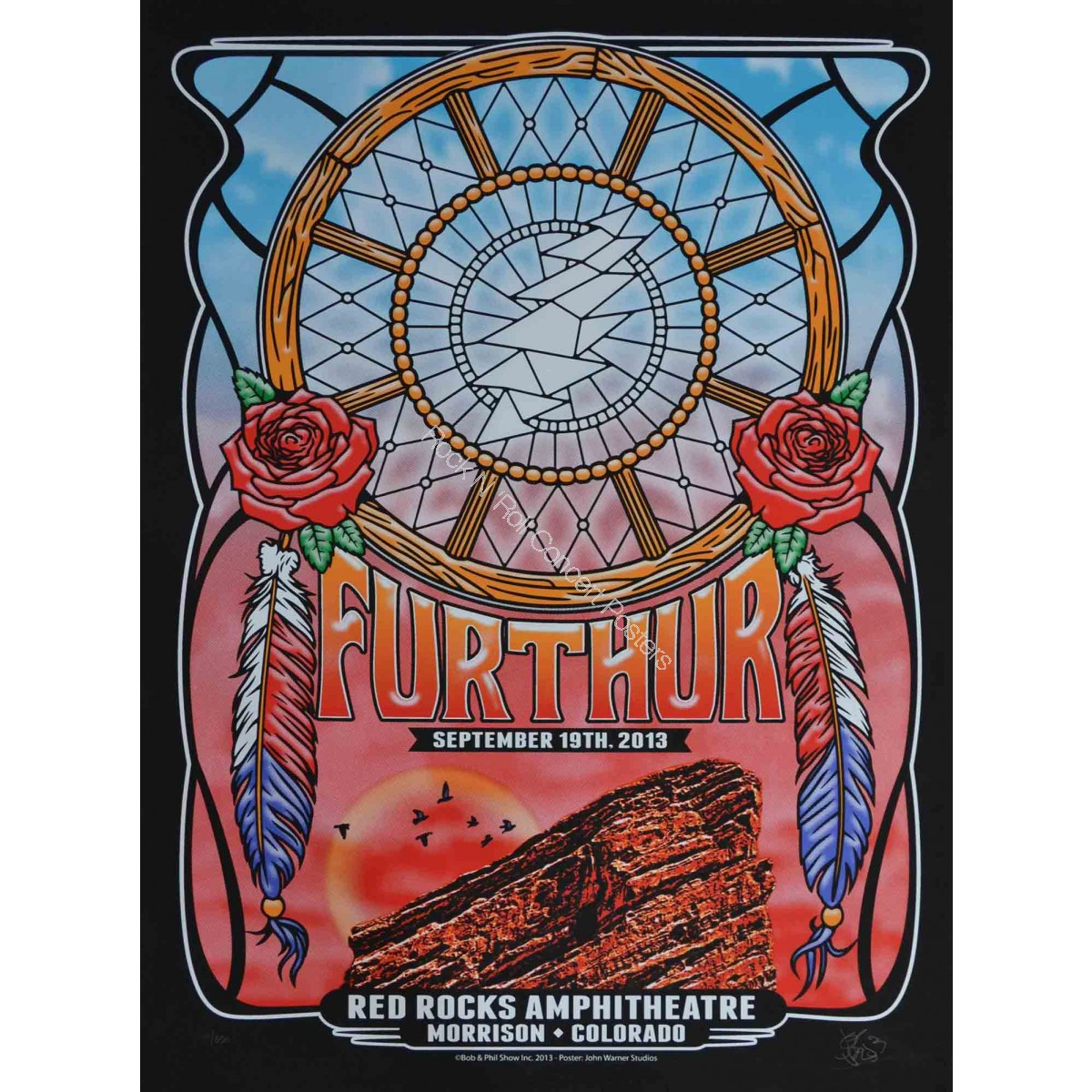 Furthur (Grateful Dead) Red Rocks Amphitheatre September 19th 2013 Night 1 Show Edition