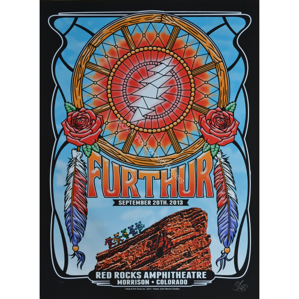Furthur (Grateful Dead) Red Rocks September 20th 2013 Night 2 official show edition