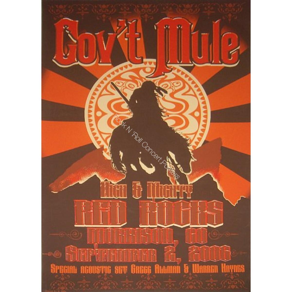 Gov't Mule @ Red Rocks Amplitheatre 2006