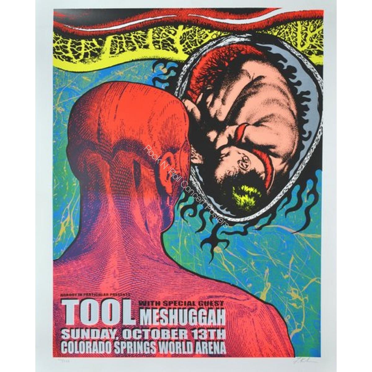 Tool & Messhugah @ The World Arena Colorado Spring Colorado 10/13/02