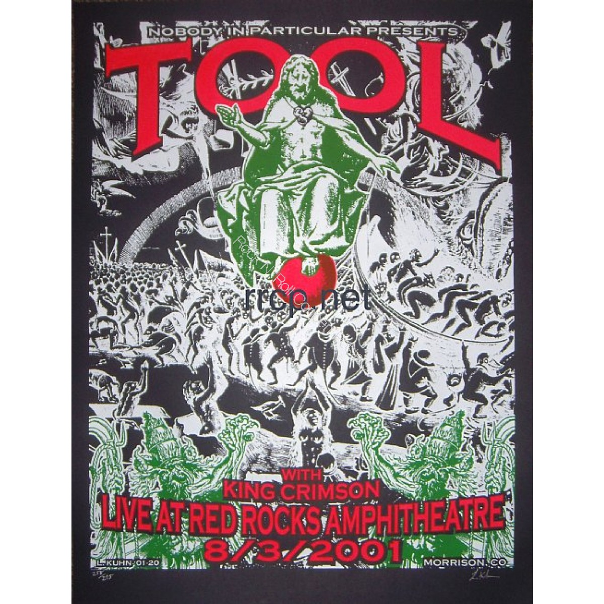 Tool & King Crimson @ Red Rocks 8/3/01
