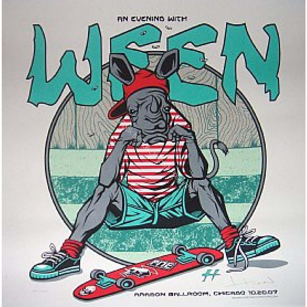 Ween @ The Aragon Ballroom Chicago 2007