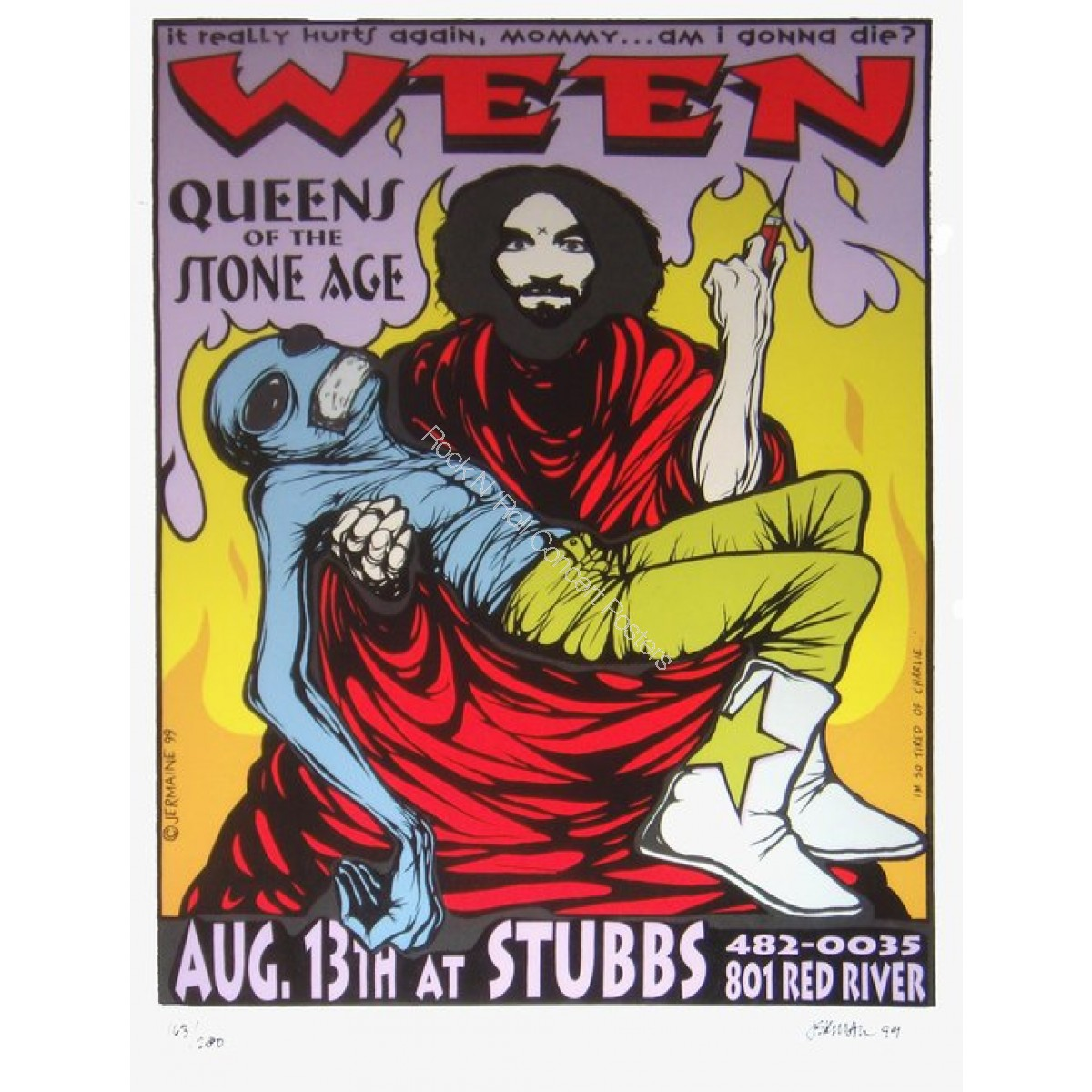 Ween & Queens Of The Stone Age @ Stubbs BBQ Austin TX 8/13/99